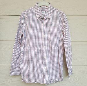 Gap kids plaid Button down shirt size Small